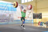 Pasaulio sunkiosios atletikos čempionate I.Kačinskas laimėjo C grupės varžybas, G.Bražaitė – 13-a