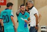 """Q.Setienas pripažino: """"L.Messi labai sunku sukontroliuoti"""""""