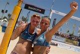 I.Dumbauskaitė ir M.Povilaitytė – pasaulio jaunių paplūdimio tinklinio čempionės!