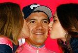 "R.Carapazas po įspūdingos pergalės tapo ""Giro d'Italia"" lyderiu"