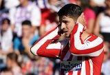 """""""Atletico"""" antrąjį susitikimą iš eilės """"La Liga"""" pirmenybėse baigė be įvarčių"""