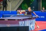 R.Paškauskienė su serbu pateko į Europos čempionato aštuntfinalį