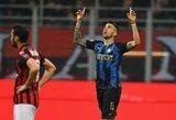 """Milano derbyje – įvarčių lietus ir """"Inter"""" pergalė"""