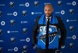 """Naujo iššūkio MLS lygoje besiimantis T.Henry nesijaudina dėl patirtų nesėkmių: """"Daug visko išmokau Monake"""""""