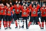 Geriausia komanda ledo ritulio Čempionų lygos istorijoje ketvirtą kartą iškovojo nugalėtojos titulą