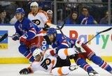 """""""Flyers"""" ir """"Kings"""" atsisveikino su galimybėmis patekti į NHL atkrintamąsias"""