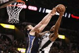 """""""Spurs"""" po įspūdingo spurto nuo pusfinalio skiria viena pergalė"""