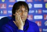 """A.Conte: """"Laimėjau titulą, todėl nusipelniau daugiau laiko"""""""