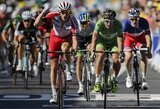 "Dvyliktojo ""Tour de France"" etapo sprinte link finišo R.Navardauskas buvo 5-as, nugalėjo A.Kristoffas"