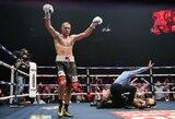 Skandalingasis S.Kovaliovas įspūdingoje kovoje nokautavo britą ir apgynė pasaulio čempiono diržą
