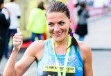 Profesionalios bėgikės D.Lobačevskės planuose – ir kitokie laimėjimai