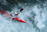 Pasaulio baidarių ir kanojų slalomo taurės etape M.Atmanavičius aplenkė du varžovus