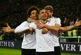 Pamatykite: paskutinis L.Podolskio įvartis rinktinėje ir jam skirta ovacijų banga