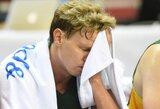 Lietuvos ir Italijos dvikovoje teisėjaus rungtynėse su belgais suklydęs arbitras