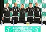 R.Berankis ir L.Grigelis priartino Lietuvos rinktinę prie antrojo Daviso taurės etapo