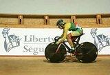 V.Šumskytė pasaulio jaunimo dviračių treko čempionate nukeliavo iki ketvirtfinalio