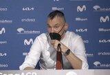 Š.Jasikevičius po triumfo kalbėjo apie sunkius laikus išgyvenančią organizaciją