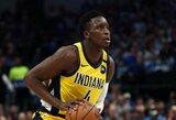 """""""Pacers"""" gynėjas V.Oladipo nusprendė praleisti NBA sezono atnaujinimą"""