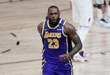 """L.Jameso ir A.Daviso duetas nulėmė antrąją """"Lakers"""" pergalę"""