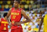 """""""Clippers"""" suteiks progą pirmam Angolos atstovui debiutuoti NBA"""