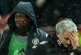 Pranešimai Anglijoje: aiškėja, kodėl J.Mourinho atėmė antrojo kapitono pareigas iš P.Pogba