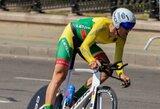 R.Navardauskas pasaulio dviračių plento čempionate – 45-as