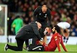 """J.Kloppas ramina dėl galimos M.Salah traumos: """"Tai nėra svarbus dalykas"""""""