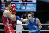 T.Tamašauskas po įtemptos kovos baigė pasirodymą pasaulio bokso čempionate