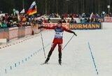 Pasaulio jaunimo čempionato sprinte sėkmingai pasirodęs biatlonininkas L.Banys turės gerą starto poziciją persekiojime