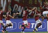 "Milano derbyje triumfavo ""Milan"" klubas"