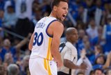 NBA savaitės žaidėjų laurai atiteko S.Curry ir A.Drummondui