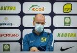 """T.Pikkarainenas: """"Nesėkmė prieš """"Slovan"""" – komandinis pralaimėjimas"""""""