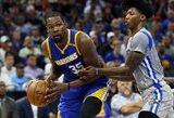 """K.Durantas mano, kad """"Timberwolves"""" į pergales turi vesti ne J.Butleris, o K.Townsas"""