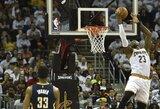 """Vos neprisižaidusi """"Cavaliers"""" ekipa sunkia pergale pradėjo atkrintamąsias"""