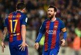 """Kova dėl """"Auksinio batelio"""": į priekį vėl iššovė L.Messi"""