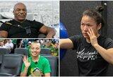 """M.Tysonas pareiškė, kad R.Namajunas """"sunaikins"""" W.Zhang ir įžeidė kinę"""