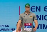 Asmeniniai rezultatai gerinti ir trečią Europos jaunimo plaukimo čempionato dieną