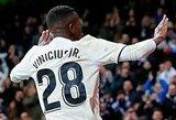 """Viniciusas nesijaudina, jog dėl E.Hazardo atvykimo gali sumažėti jo žaidimo laikas: """"Viskas priklausys nuo Z.Zidane'o"""""""