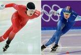 Originalu: pakeista aprangos spalva suteikė Norvegijos čiuožėjams daugiau greičio?