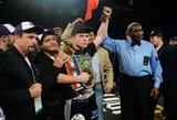 12 raundų mūšį dėl pasaulio čempiono titulo laimėjęs S.Alvarezas paskelbė naujos bokso eros pradžią