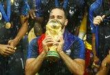 Oficialu: pasaulio čempionų gynėjas A.Rami baigia karjerą Prancūzijos rinktinėje