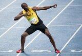 """Greičiausias planetos žmogus U.Boltas treniruosis su """"Borussia"""" klubu"""