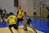 Baigėsi pirmasis Lietuvos rankinio lygos sezono ratas