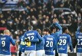 """Prancūzijos taurėje """"Strasbourg"""" įveikė ketvirtos pagal pajėgumą lygos komandą"""