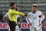 Po pergalingų rungtynių L.Messi įsivėlė į konfliktą su varžovų treneriu