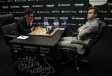 Pasaulio šachmatų čempionato finale – trečios lygiosios