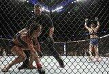 """MMA kovotojui atsibodo J.Jedrzejczyk kalbos: """"Kritai du kartus ir buvai nokautuota – kaip gali save vadinti čempione?"""""""