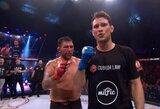 """Svajonių debiutas """"Bellator"""": A.Andriuškevičius sumaitojo buvusio UFC kovotojo veidą"""