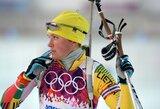 Biatlonininkė D.Rasimovičiūtė baigė savo karjerą