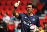 """G.Buffonas prisiminė savo prisijungimą prie PSG: """"Niekada nebūčiau išdavęs savo idealų ar svajonių dėl pinigų"""""""